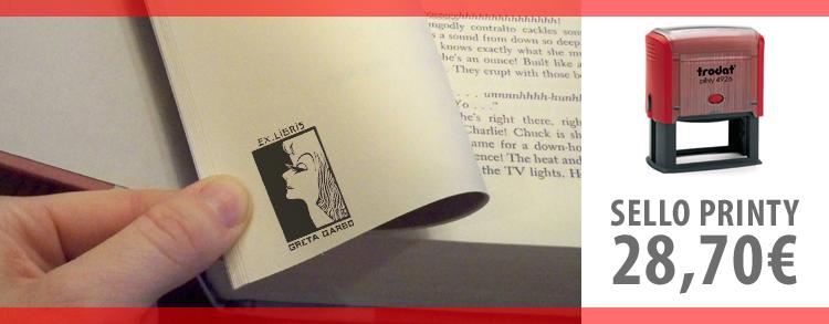 El Ex-Libris de Greta Garbo